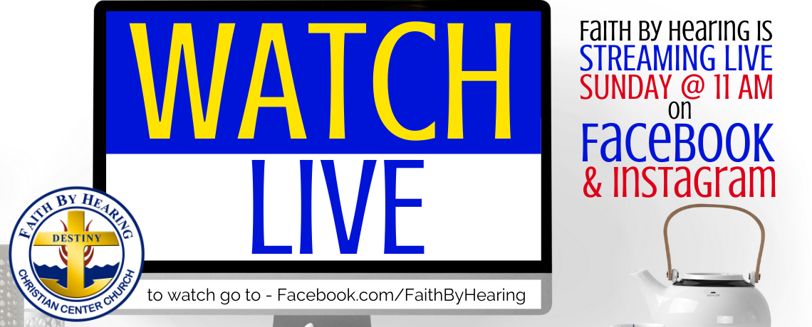 Watch Live — Streaming Live This Sunday Morning!